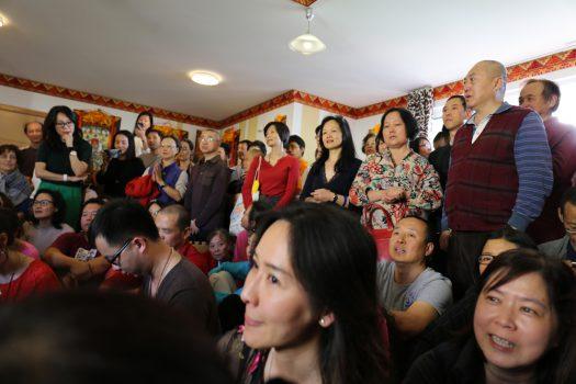 samtengar's tibetn room