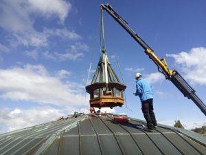 西火山营大禅堂的特别维修工程