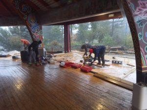 火山营大禅堂维修的最新情况