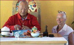 大圆满同修会里的艺术家们— 对安斯•斯瓦特(Ans Swart)的访谈